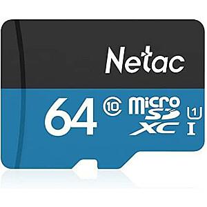 MEMORY MICRO SDXC 64GB UHS-I/NT02P500STN-064G-S NETAC