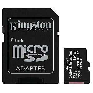 MEMORY MICRO SDXC 64GB/KINGSTON