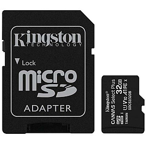 MEMORY MICRO SDHC 32GB/KINGSTON