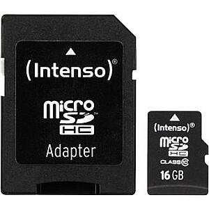 MEMORY MICRO SDHC 16GB/INTENSO