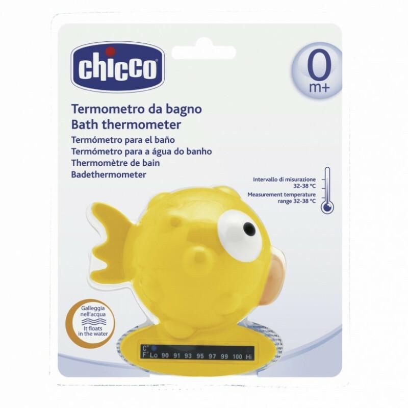 Chicco Vannas termometrs Apaļā, dzeltens