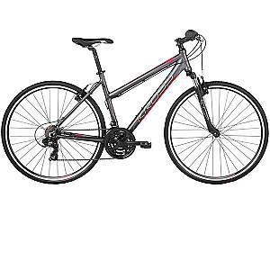 "Kalnu velosipēds Kross Evado 1.0 Grafit Roza Mat. (L) (Rata izmērs: 28"")"