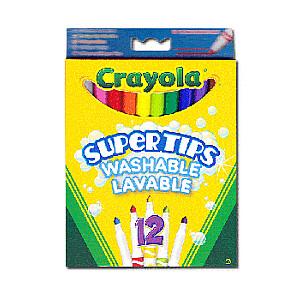 Crayola Flomasteri, 12 gb.