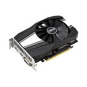 Graphics Card ASUS GeForce GTX 1650 SUPER 4 GB 128 bit PCIE 3.0 16x GDDR6 Memory 12002 MHz GPU 1530 MHz Dual Slot Fansink 1xDVI 1xHDMI 1xDisplayPort PH-GTX1650S-O4G