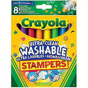 Crayola Flomasteri-zīmodziņi, 8 gb.