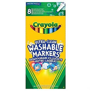 Crayola Vaska krītiņi, 8 gb.