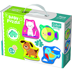"""Baby Mazuļu puzle """"Dzīvnieki"""""""