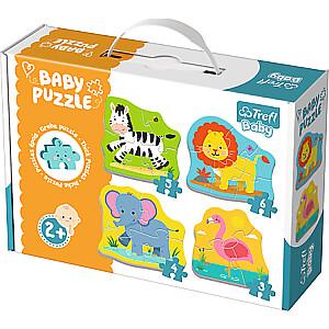 """Baby Mazuļu puzle """"Safari dzīvnieki"""""""