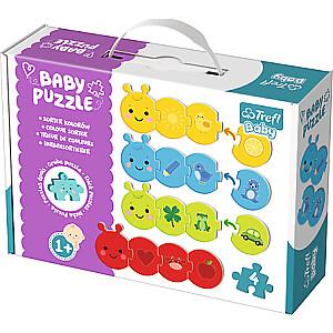 """Baby puzle """"Krāsas"""""""