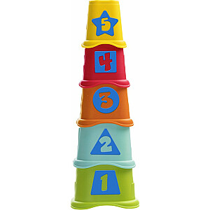 "CHICCO Piramīda ""2in1"", 6-36m"
