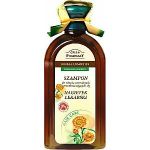 Green Pharmacy šampūns normāliem un taukainiem matiem Calendula 350 ml