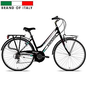 """Sieviešu pilsētas velosipēds Esperia Oxford TRK.28 TZ50 18V Black (Rata izmērs: 28"""" Rāmja izmērs: 17"""")"""
