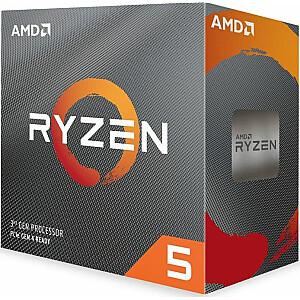 AMD Ryzen 5 3600 procesors, 3,6 GHz, 32 MB, BOX (100-100000031BOX)