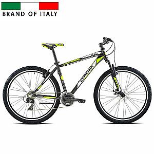 """Vīriešu kalnu velosipēds Esperia 107210U MTB 27.5 MATT BLACK/LIME (Rāmja izmērs: 17 Rata izmērs: 27.5"""")"""