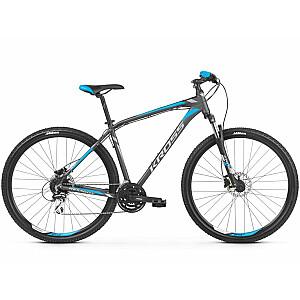 "Kalnu velosipēds Kross Hexagon 5.0 Sudrab/Zila Mat. (L) (Rata izmērs: 29"")"