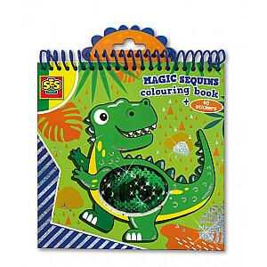 SES Krāsojamā grāmata - Fliteriem Dino