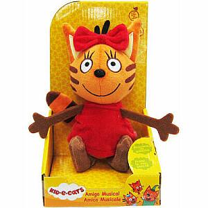 TOY PLUS KID-E-CATS Plīša rotaļlieta ar skaņu 20 cm