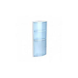 Stūra vannas istabas skapītis zils
