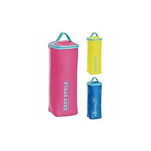 Termiskā soma pudelei Easy Style Bottle Cooler asorti, dzeltena/zila/rozā