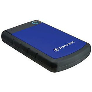 External HDD TRANSCEND StoreJet 4TB USB 3.1 Colour Blue TS4TSJ25H3B
