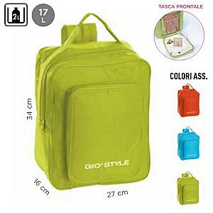 Termiskā mugursoma Fiesta Backpack asorti, oranža/gaiši zila/zaļa