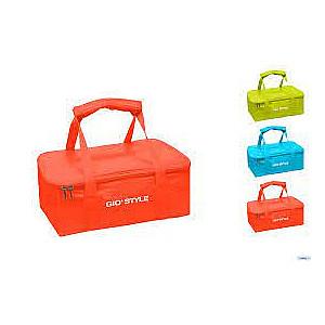 Termiskā soma Fiesta Jumbo asorti, oranža/gaiši zila/zaļa
