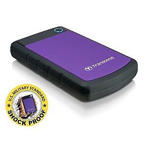 External HDD TRANSCEND StoreJet 2TB USB 3.0 Colour Purple TS2TSJ25H3P