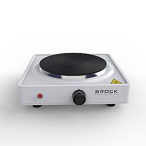 BROCK Vienriņķa elektriskā plītiņa, 1000W