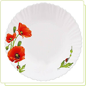 "MAESTRO Šķīvis  ""Poppies2"""