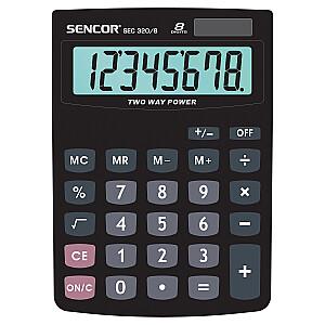 SENCOR Galda kalkulators. 8 ciparu displejs