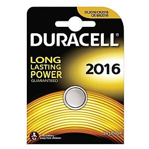 Duracell CR2016 Litija 3V Baterija