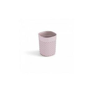 Groziņš Filo S 0,5L apaļš Ø90x11cm rozā