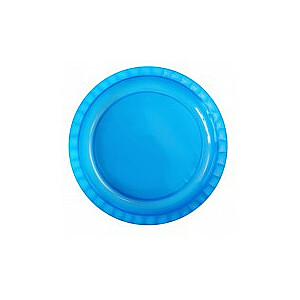 Šķīvis Ø26,5cm Trippy caurspīdīgi zils