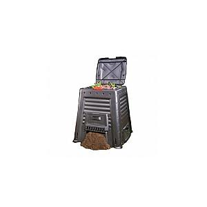 Komposta kaste Mega Composter 650L Without Base melna