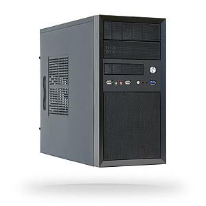 CHIEFTEC MiniTower MicroATX Colour Black