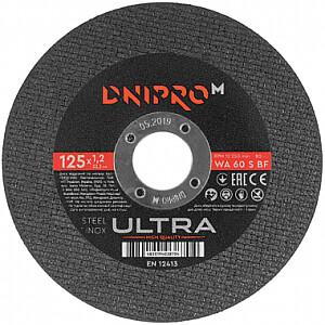 Griezējdisks 125x1.2x22.23mm Ultra DNIPRO-M