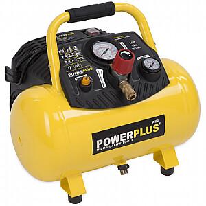Kompresors 1100W, 12L, 1.5HP, bez eļļas Powerplus X