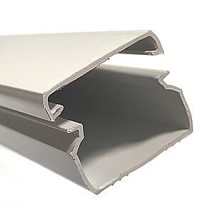 Kabeļu kanāls balts 12x12mm, 2m BYLECTRICA