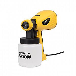 Krāsas smidzinātājs 500W 0.8L POWX354 POWERPLUS X