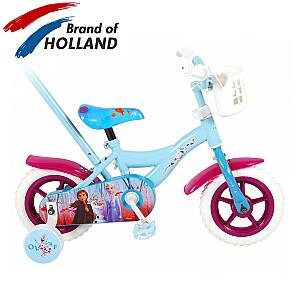 Bērnu velosipēds Disney Frozen 2 Blue / Purple 10''