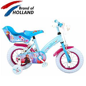 "Bērnu velosipēds Disney Frozen 2 Blue / Purple  (Rata izmērs: 12"")"