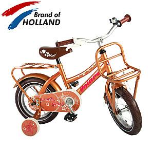 """Bērnu velosipēds Volare Lovely Stars 12"""" Gold"""