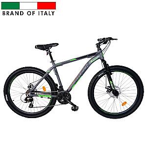 """Stucchi MTB velosipēds 1WM400G6 24V pelēks ar zaļu (Ramja izmērs: 46 cm Rata izmērs: 26"""")"""