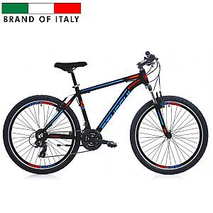 """Stucchi MTB 1WM3006 velosipēds - melns ar zilu (Ramja izmērs: 46 cm, Rata izmērs: 26"""")"""