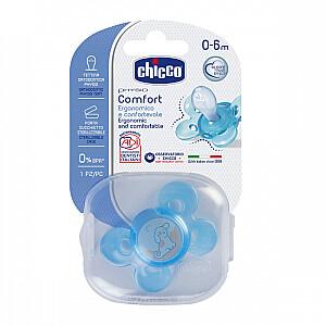 CHICCO Physio Comfort Fizioloģiskas formas māneklīts, 0m, zila