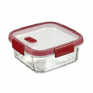 Stikla pārtikas trauks kvadrāts 0,7L Smart Cook