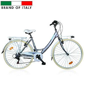 Pilsētas velosipēds Esperia 2100 MONO 26 48 TZ50 6V Grey ( Rata izmērs : 26'', Rāmja izmērs 17'')