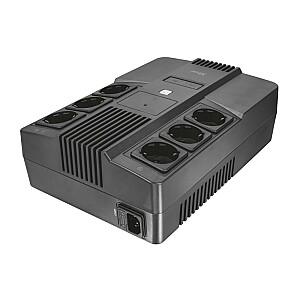 UPS TRUST 800 VA Wave form type Simulated sinewave Desktop/pedestal 23326