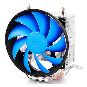 "Deepcool ""Gammaxx 200T"" universal cooler, 2 heatpipes, 120mm PWM fan,  Intel Socket LGA115X / 775, 95 W TDP and AMD Socket FMxx/AMxx, 100W TDP  Cooler"