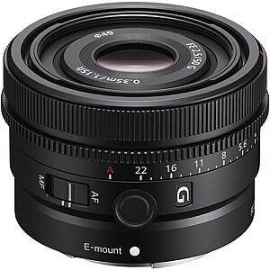 Sony SEL50F25G FE Lens 50 mm F2.5 G
